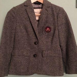 Abercrombie cropped tweed blazer